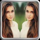 Editor de Fotos Espejo Efecto: Collage & Reflexión icon