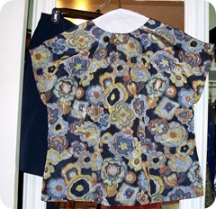Completed Sencha #2 blouse