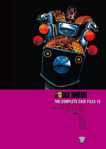 The Hipster Dad's Bookshelf: Judge Dredd: The Complete Case