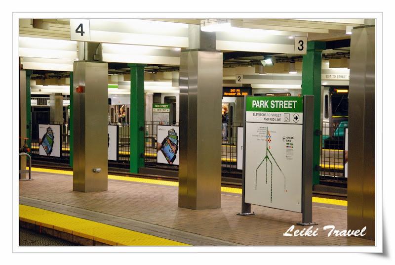MBTA - Park Street