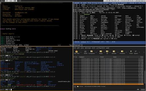 xmonad - Tile Window Manager