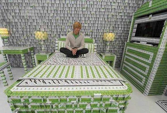 Recykling plastikowych kart hotelowych