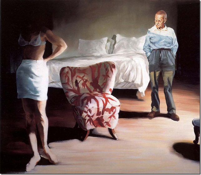 eric fischl - The Bed, The Chair.. 2001.