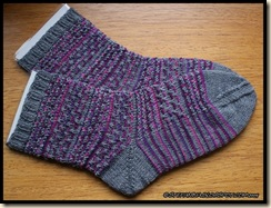 The wall socks - finished