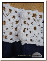 Granny - crocheted buttons