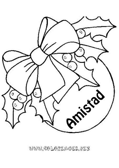 Imagenes Bolas De Navidad Para Colorear.Bolas De Navidad Con Mensaje Para Colorear