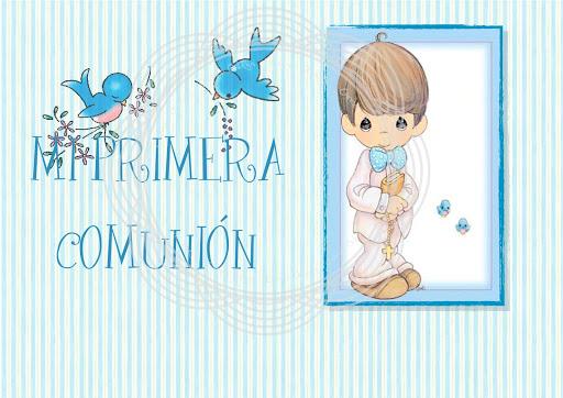 Dibujos De Comunion Para Imprimir Y Colorear: PRIMERA COMUNION ALBUM PARA IMPRIMIR