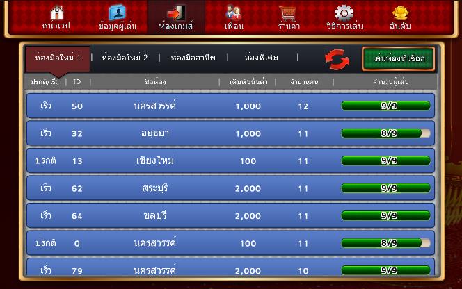 เก้าเก TurnPro มหาเศรษฐี - screenshot