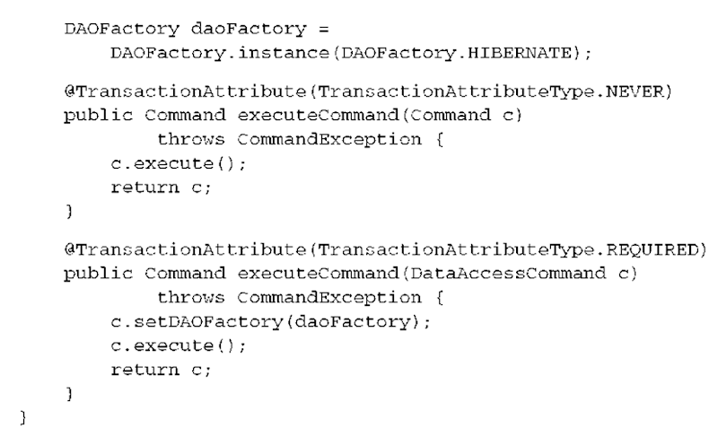 Creating and testing layered applications (Hibernate)