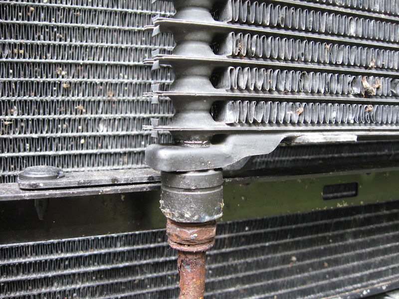 How Do I Undo These Fittings Transmission Oil Cooler