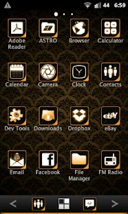 ADWTheme Orange Icons - screenshot thumbnail