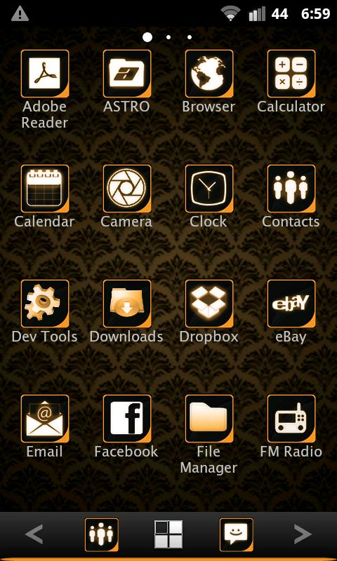 ADWTheme Orange Icons - screenshot