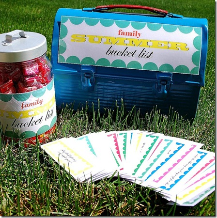 summer bucket list outside