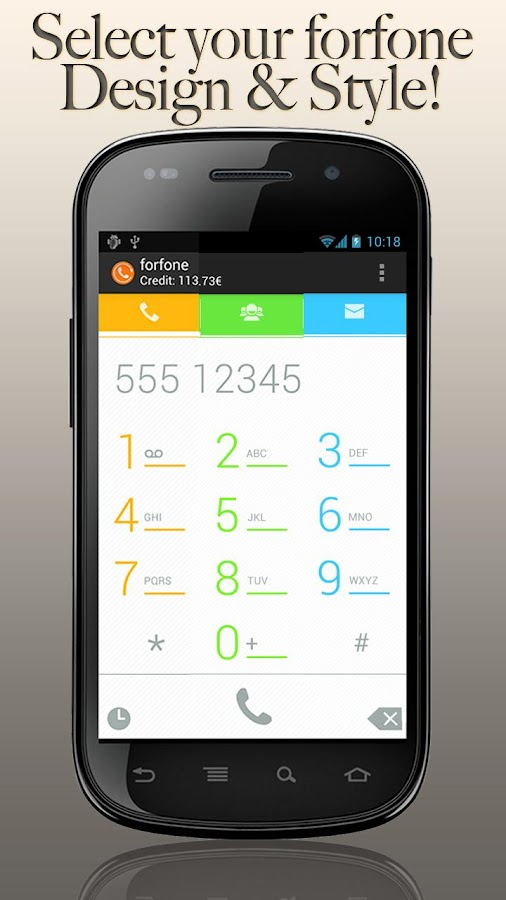 forfone: Free Calls & Messages - screenshot