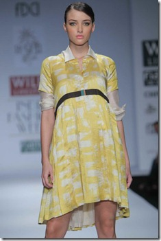 WIFW SS 2011 collection by Vineet Bahl (14)