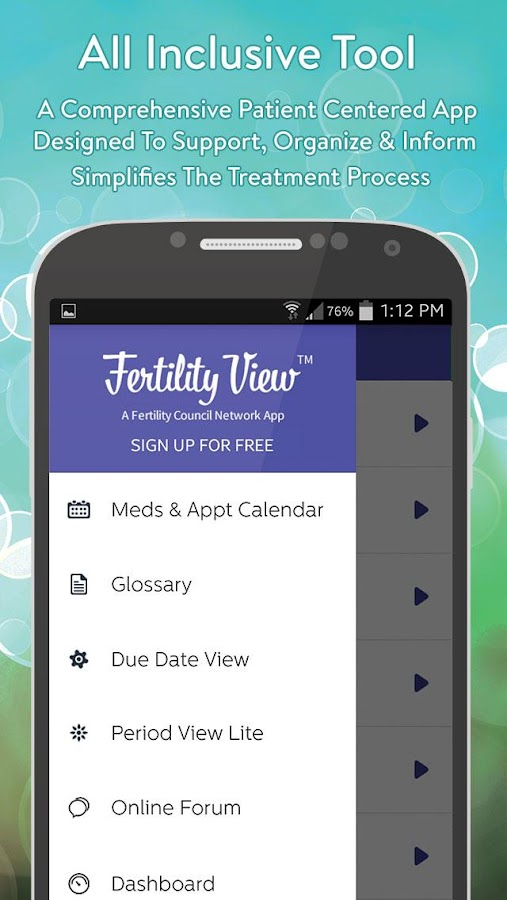 Fertility View™- screenshot