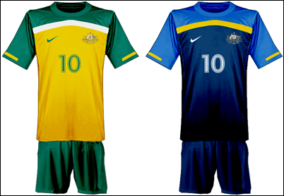 a2b629fa6 Matt s Football Blog  Australia s 2010 World Cup Kit