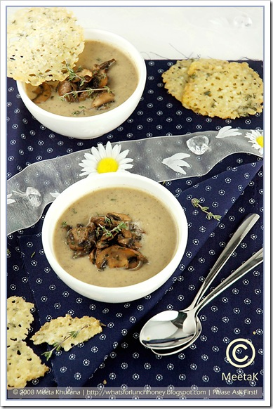 Mushroom Cream Soup (02) by MeetaK