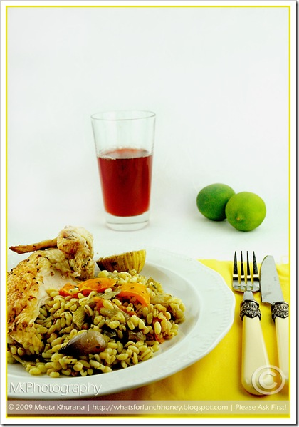 Lime Chicken Veg Farro (01) by MeetaK