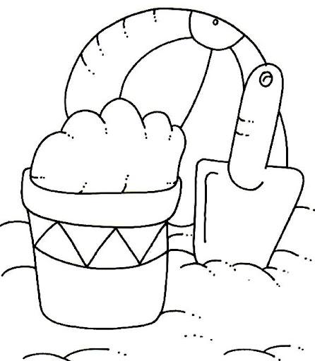 Actividades Para El Verano Para Niños Dibujos Colorear Verano