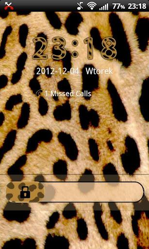 GO Locker Leopard Theme
