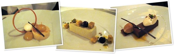 View desserts Le Bernardin