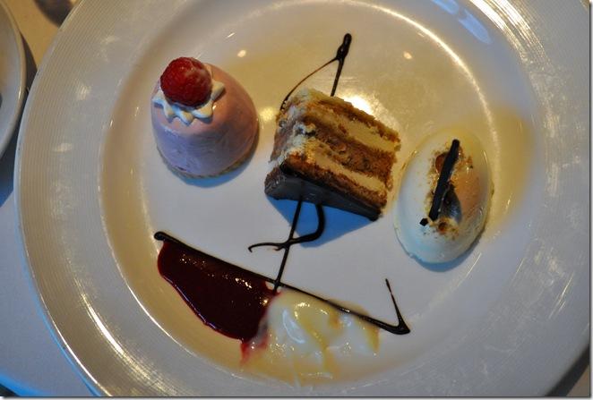 ship shape dessert