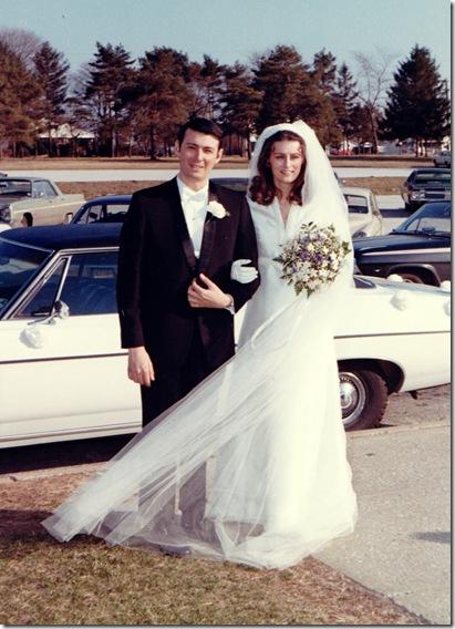 Rich and Linda - April 11, 1970