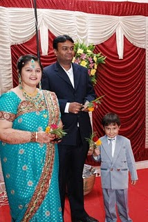 Ronak with Parents - Atul Vitha and Ruchi Vitha