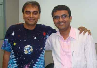 Devang Vibhakar with Jay Vasavada