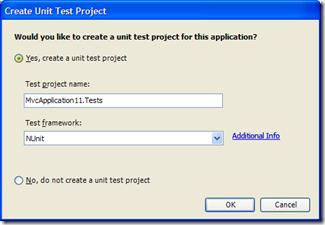 Crear proyecto de pruebas unitarias
