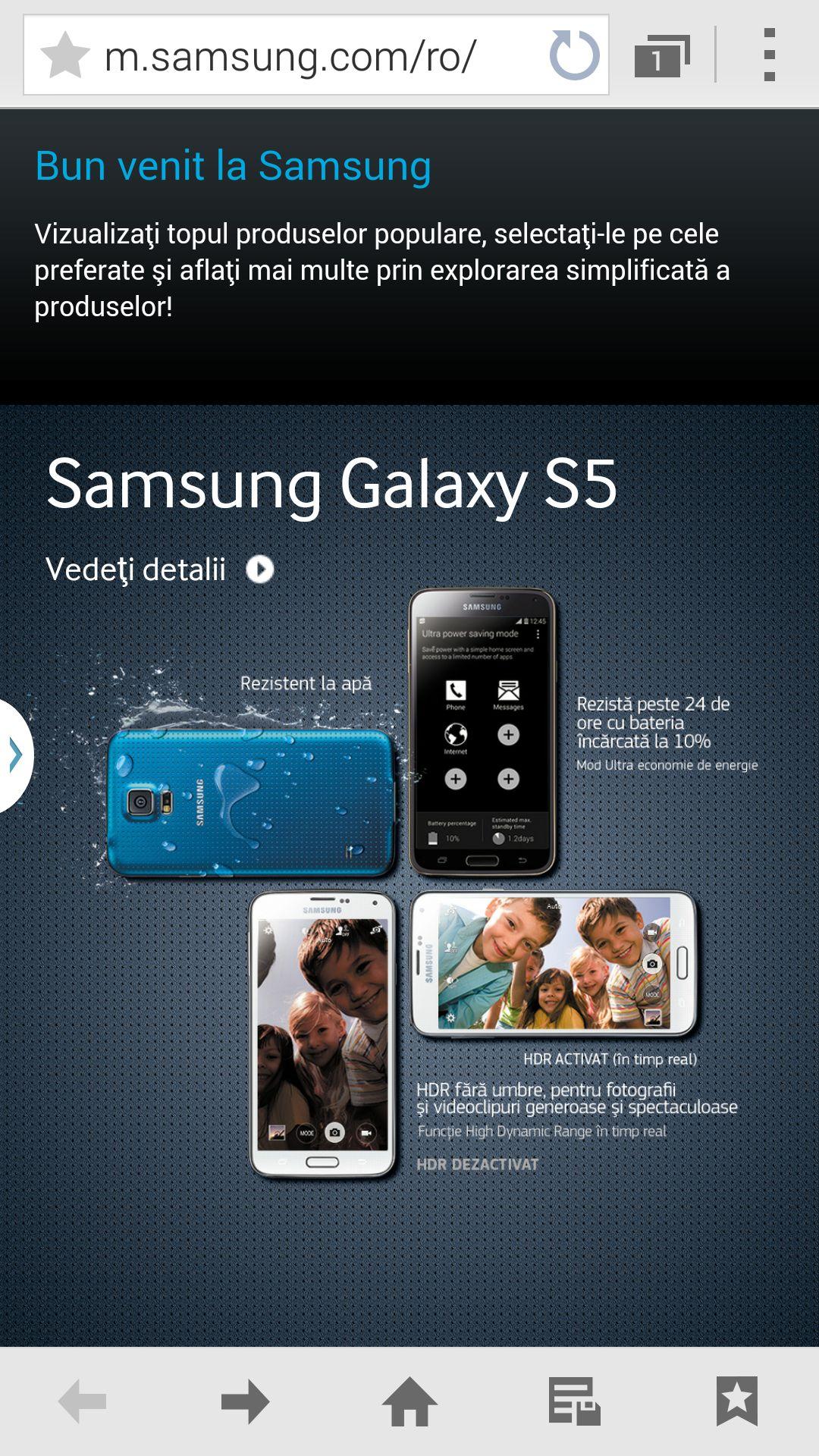 Samsung Galaxy S5 - App Simulator