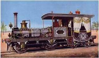"The first locomotive in Egypt ""EgypteDantan.com"""