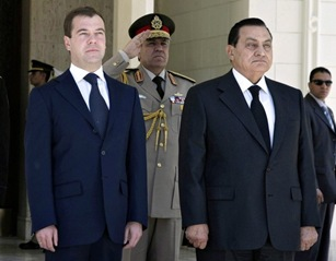 Mubarak and Medvedev