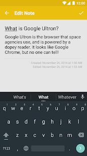 BrightNotes - Easy Notetaking! Screenshot 3
