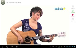 Screenshot of Master Rhythm Guitar FREE