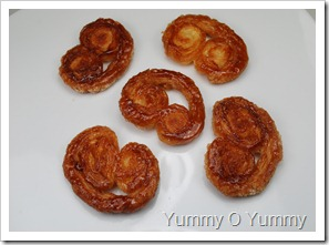 Palmiers / Elephant Ears/ Butterfly Cookies