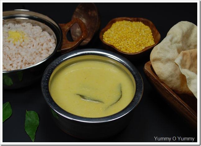 Sadya Parippu Curry / Parippu