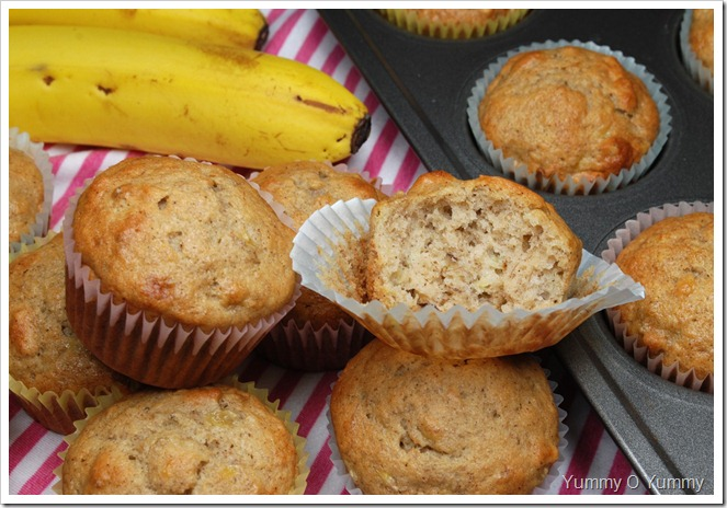 Banana and Nut Muffins