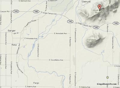 Jesse Morrow Mountain map