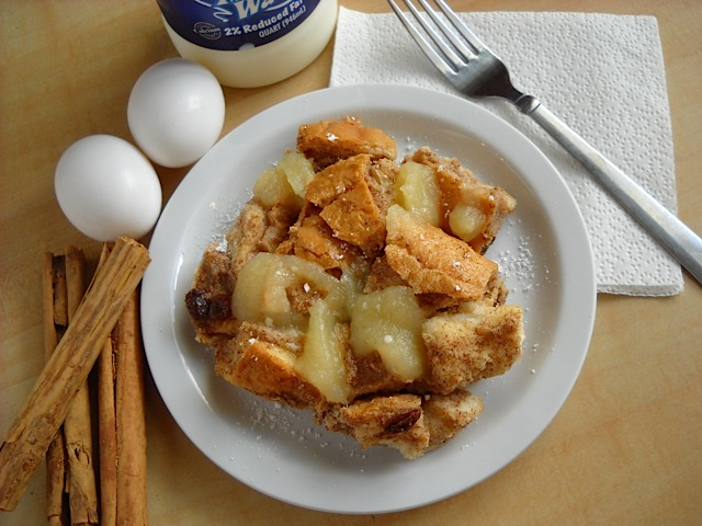 Apple Cinnamon Bread Pudding
