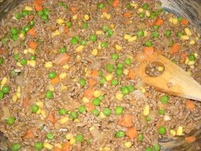 shepherd's pie meat mixture