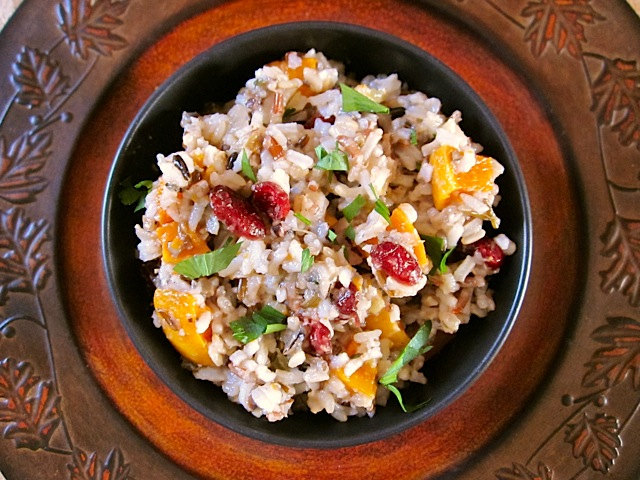 HOliday wild rice pilaf