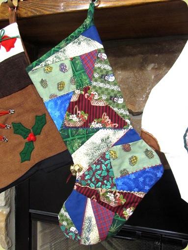 Crazy Quilt Stocking Pattern 77