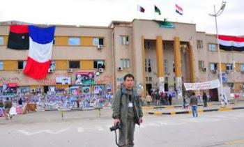 中国记者在利比亚的现场围脖报道