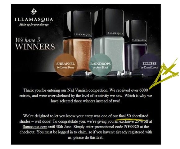 Nail Varnish Competition