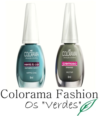 Colorama Fashion - Verdes