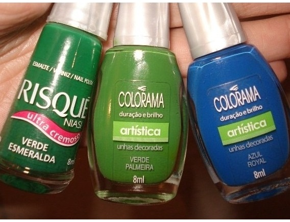 Esmaltes Customizados - Ingredientes