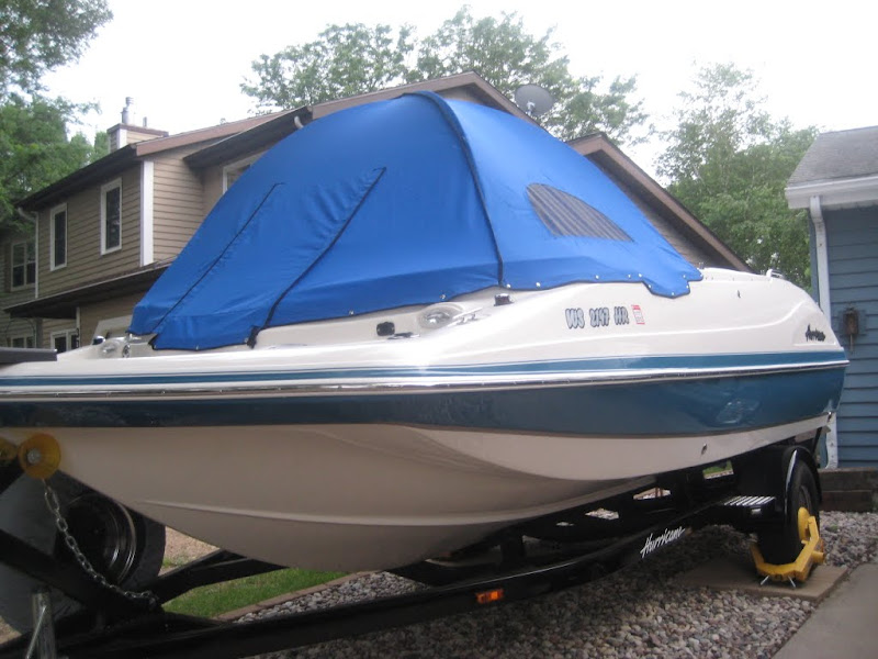 Honda Of Lake Jackson >> My new cuddy, well sorta... Deck boat tent Page: 1 ...