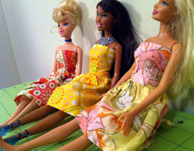 Sew Spoiled Barbie Clothes